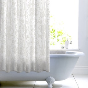 Dorma Regency Silver Shower Curtain
