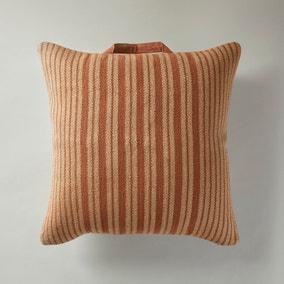 Jute and Cotton Butterscotch Floor Cushion
