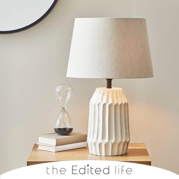 Ecomix White Table Lamp White