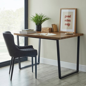 Claude Rustic Wood Effect Table