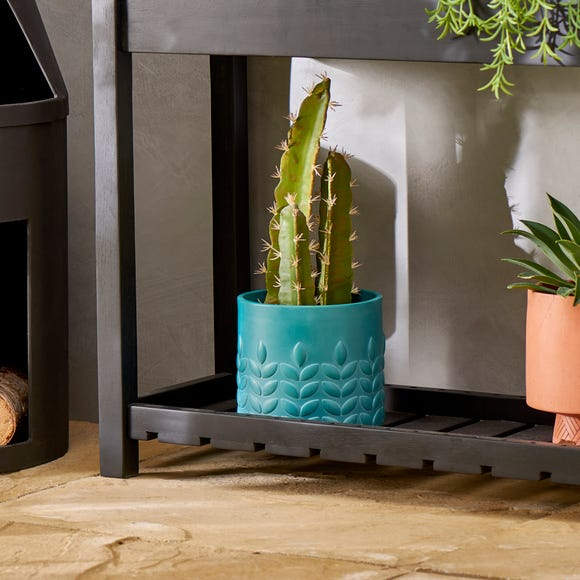 Elements Vete Teal Planter Teal (Blue)