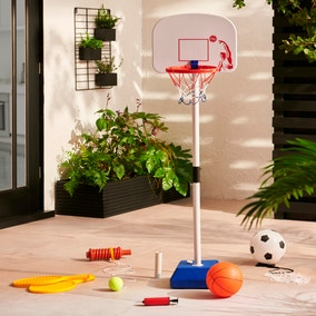 3 in 1 Swing Tennis, Basketball and Football Set