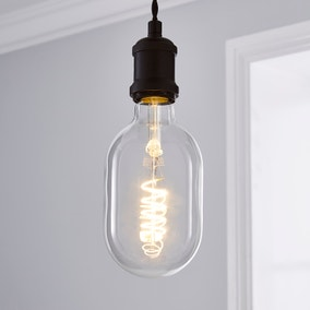 Haines Oval Filament Bulb Clear