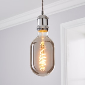 Haines Oval Filament Bulb Chrome