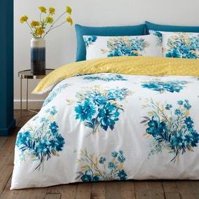 Emmeline Floral Reversible Duvet Cover and Pillowcase Set