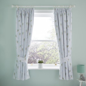Tinkerbell Blackout Pencil Pleat Curtains