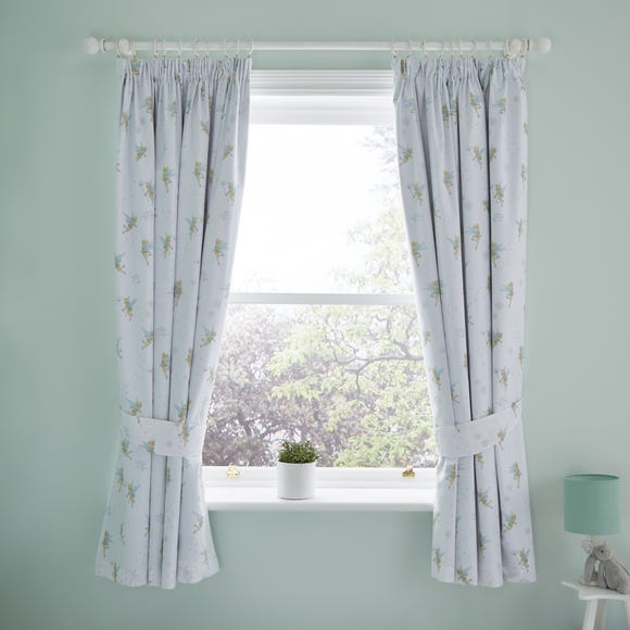 Tinkerbell Blackout Pencil Pleat Curtains  undefined