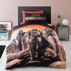 Star Wars Mandalorian 100% Cotton Duvet Cover and Pillowcase Set