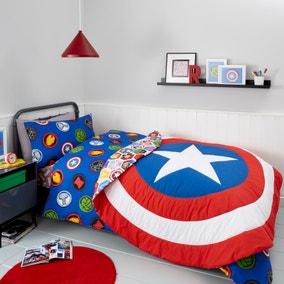 Marvel Shield Bedspread