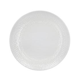 Zen White Dinner Plate