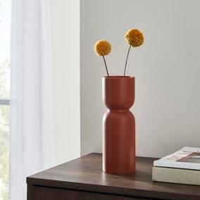 Elements Ceramic Vase 23cm Butterscotch
