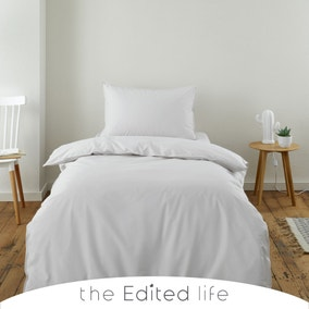 Cloud 100% Organic Cotton Duvet Cover and Pillowcase Set