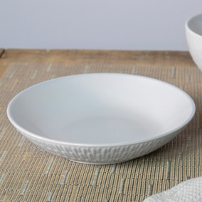 Zen White Pasta Bowl