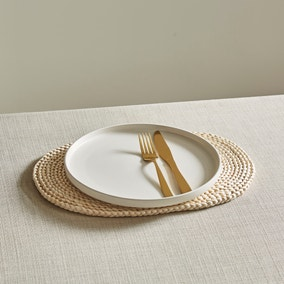Corn Husk Oval Placemat