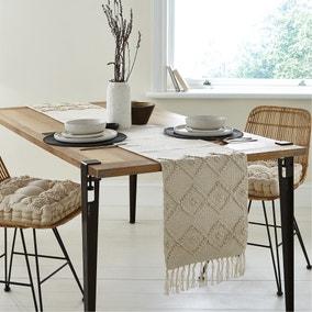 Macrame Global Textured Table Runner