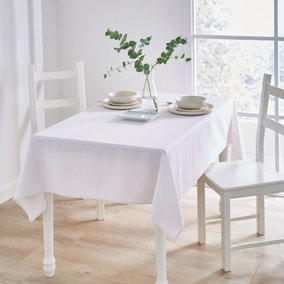 Cotton and Linen Mix Tablecloth
