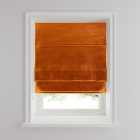 Isla Orange Roman Blind
