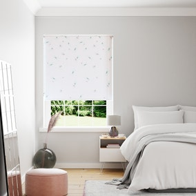 Dragonflies Blue Reversible Roller Blind