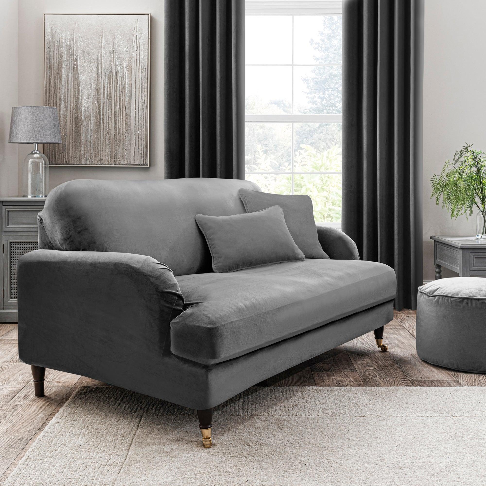 Isla Three Seater Sofa Cover Grey