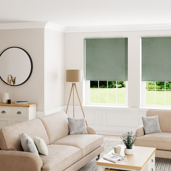 Montreal Lily Pad Blackout Roller Blind  undefined