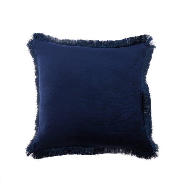 Keston Velvet Cushion Navy undefined