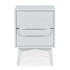 Anders 2 Drawer Bedside Table