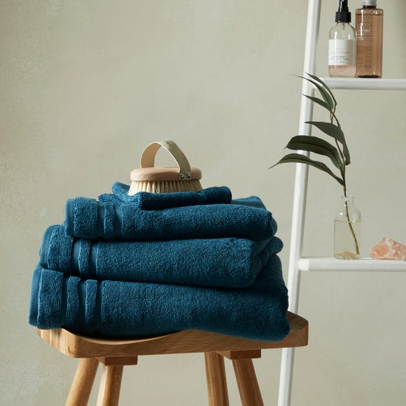So Soft Bamboo Petrol Towel  undefined