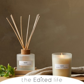 Natural 200ml Oil Mint Reed Diffuser