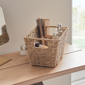 Seagrass Tapered Basket Small