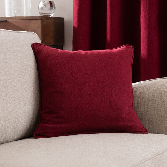 Luna Cushion Cover Wine (Red) undefined