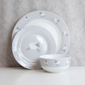 Penny the Sheep 12 Piece Dinner Set