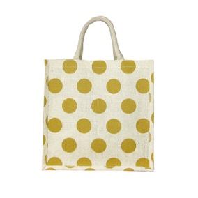 Easter Medium Jute Shopper Bag