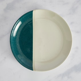Elements Dipped Side Plate Teal