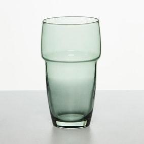 Stackable Green Hiball Glass