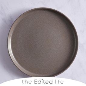 Urban Round Grey Serving Platter