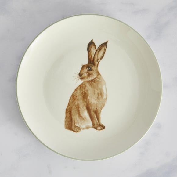 Homestead Hare Side plate Natural