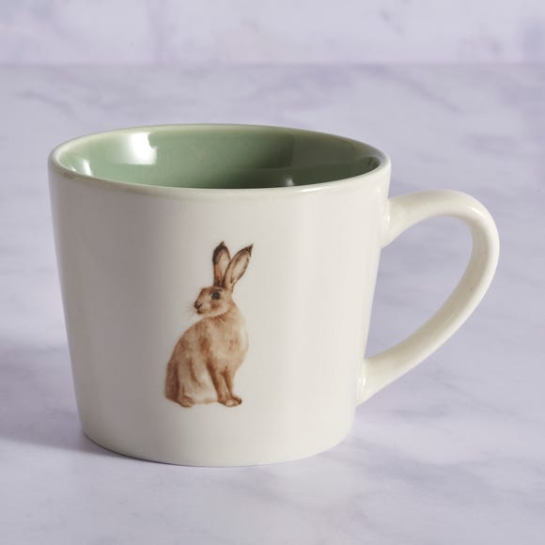 Homestead Hare Mug MultiColoured