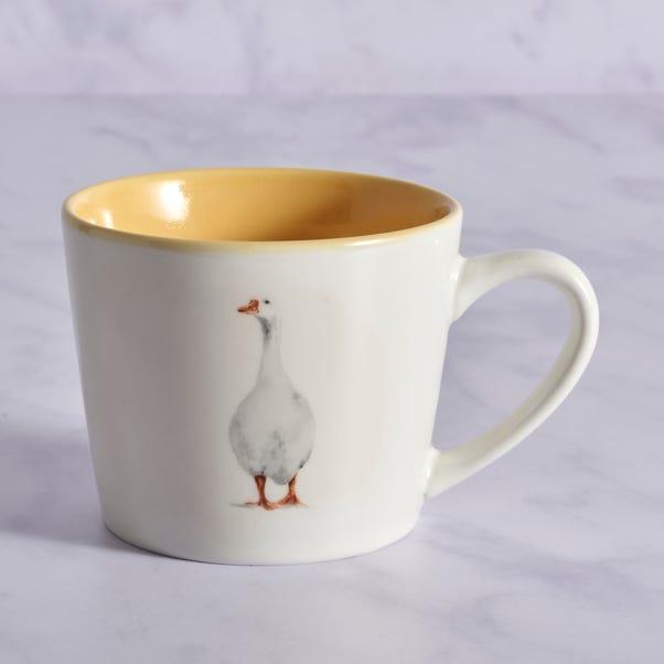 Homestead Goose Mug MultiColoured