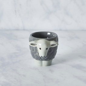 Penny Egg Cup Grey