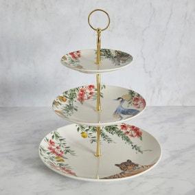 Tropics Cake Plate