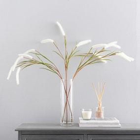 Artificial Foxtail Grass Cream 90cm