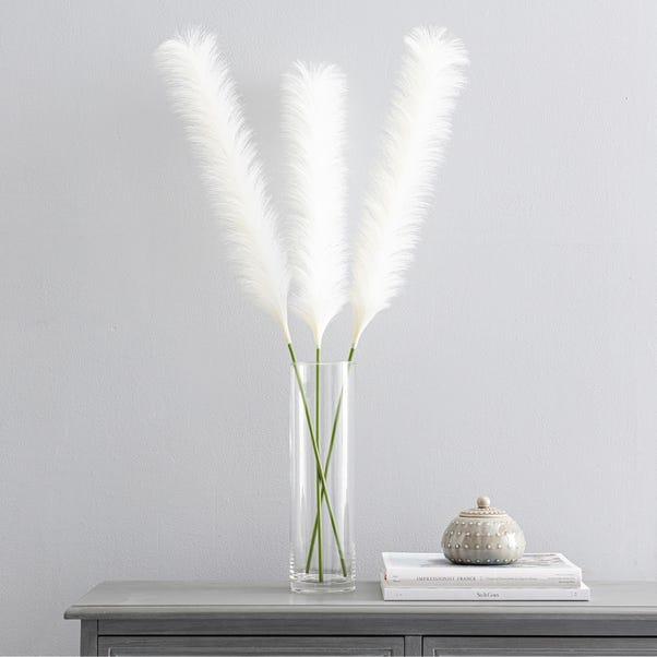 Artificial Pampas Bundle White 90cm White