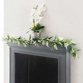 Artificial Lily Garland 180cm
