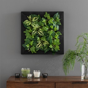 Artificial Mixed Foliage Wall Panel 50cm