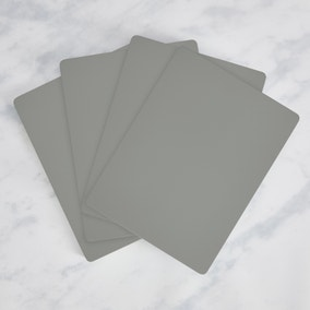 Painted Wooden Placemats Set of 4