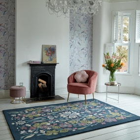Charlotte Floral Wool Mix Rug