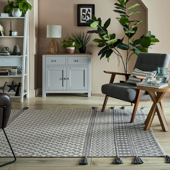 Cotton Flatweave Rug  undefined