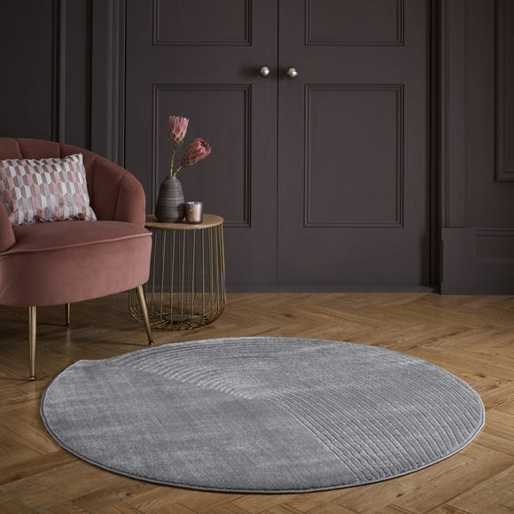 Noah Shaped Dia 133cm Circle Rug Noah