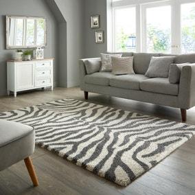 Zebra Berber Rug