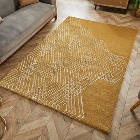 Diamonds Wool Rug